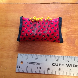 35-Pincushion watermelon w ruler