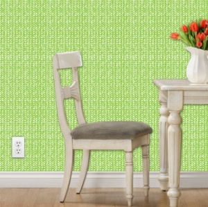 Lime-reverse-wallpaper-preview-Spoonflower